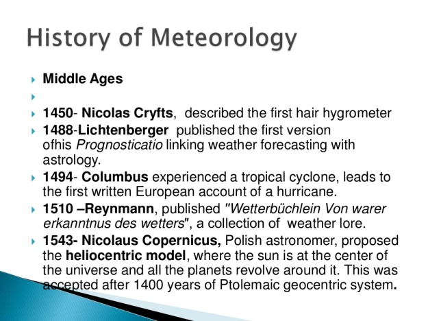History of Meteorology 4