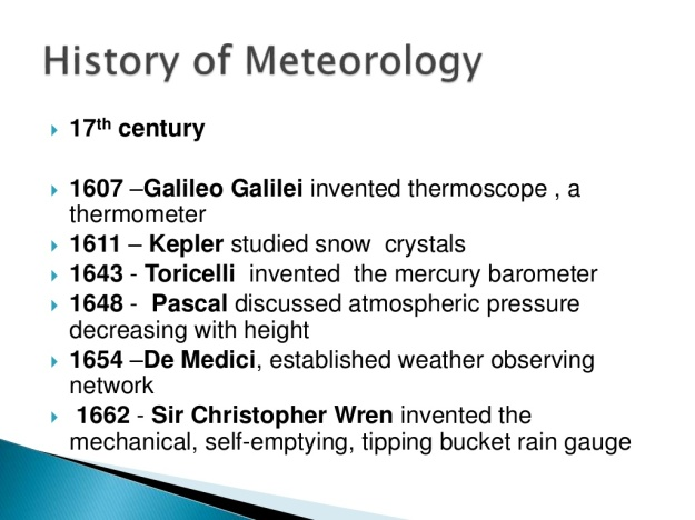 History of Meteorology 5