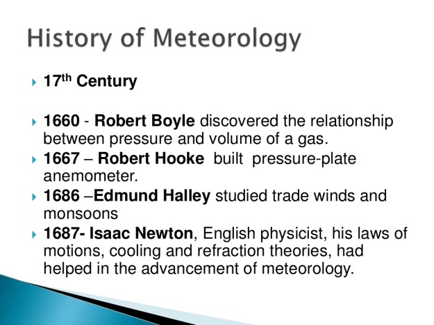 History of Meteorology 6