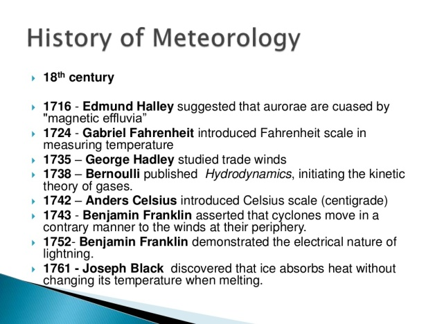 History of Meteorology 7