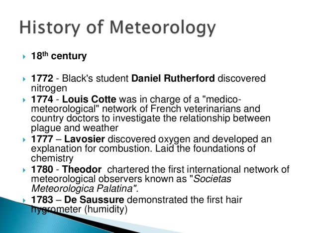 History of Meteorology 8