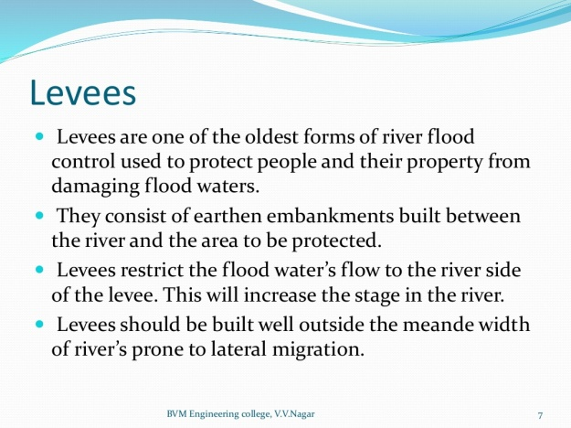 Methods of Flood Control 5
