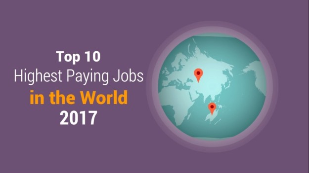 21 - Top 10 Highest Paying Jobs in the World 2017