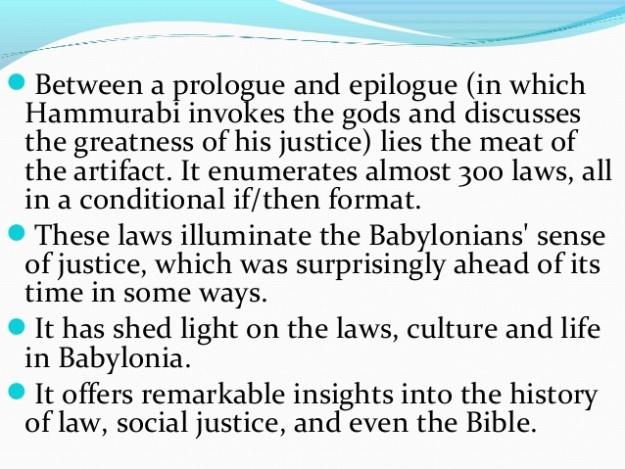 Code of Hammurabi 4