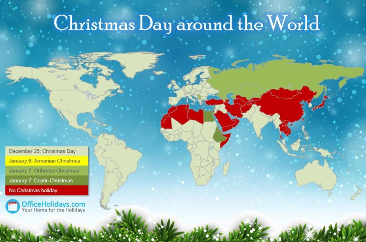Christmas Day Around the World