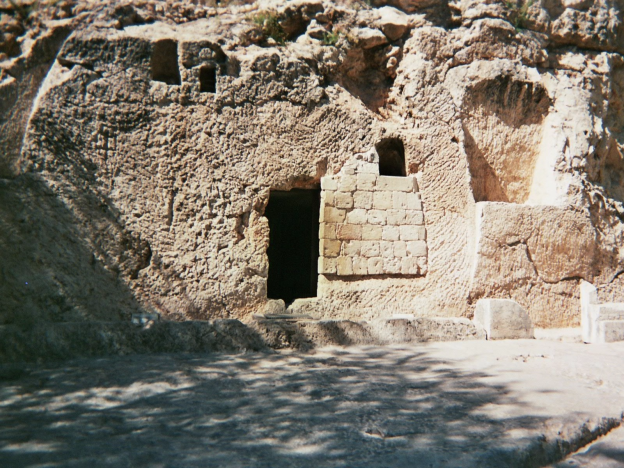 Garden Tomb where Jesus was buried