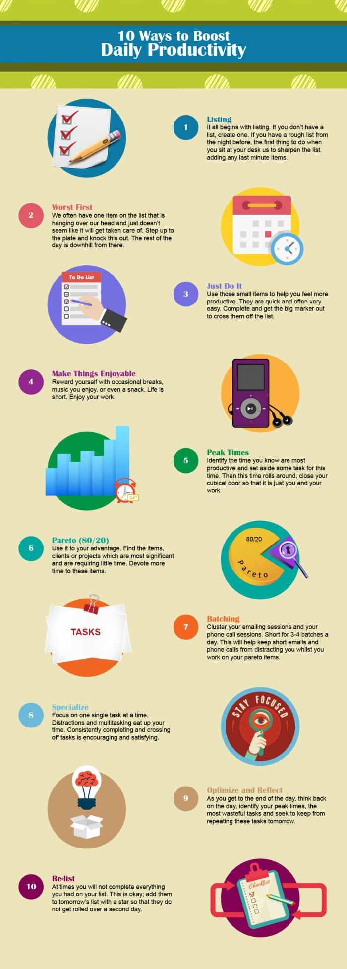 10 Ways to Boost Daily Productivity