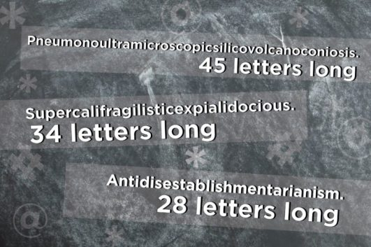 Top 10 Longest Words in the English Language