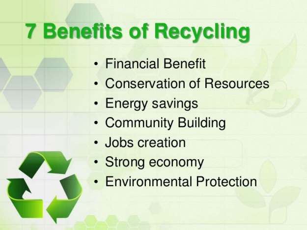 7 Benefits of Recycling