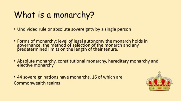 2 - What is Monarchy
