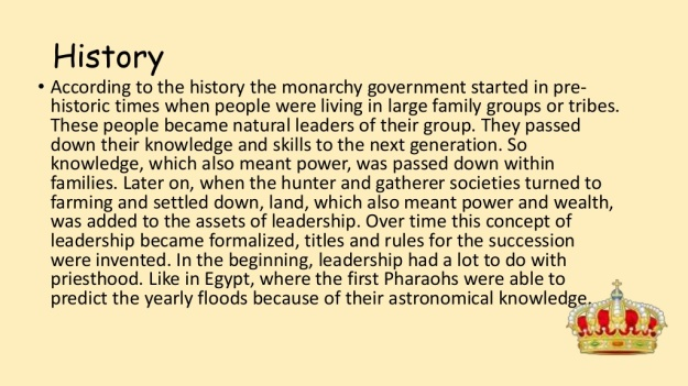 4 - What is Monarchy