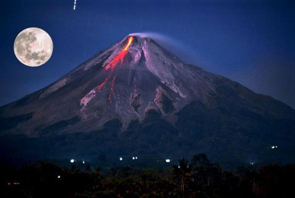 Mount Merapi Indonesia