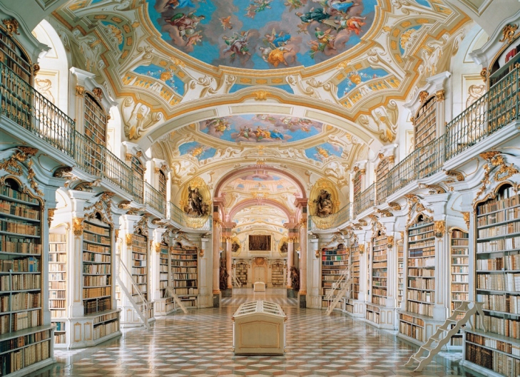 Beautiful Library in the World