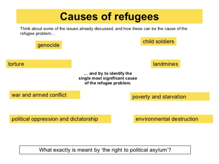 What are the Causes of Refugees