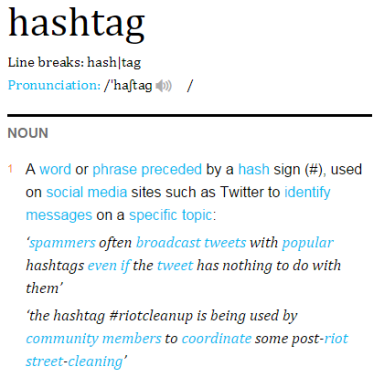 Hashtag Definition