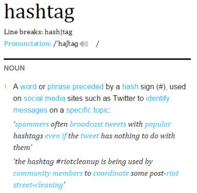 Hashtag Definition