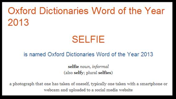 Selfie Meaning