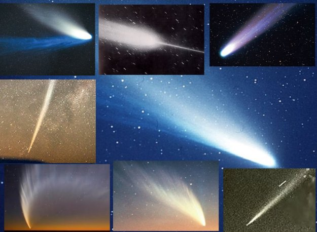 Collage of Comets