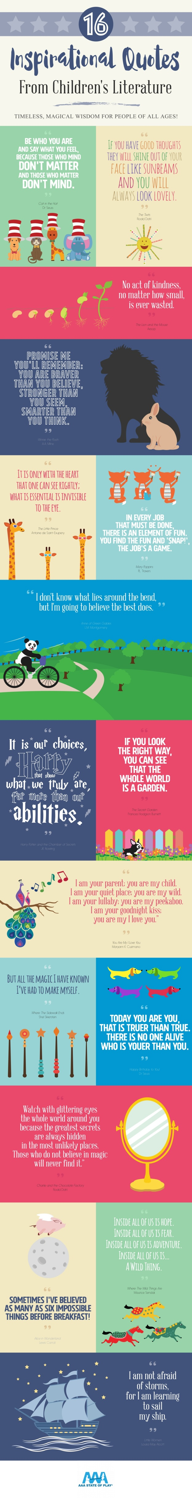 16 Inspirational Quotes from Childrens Literature