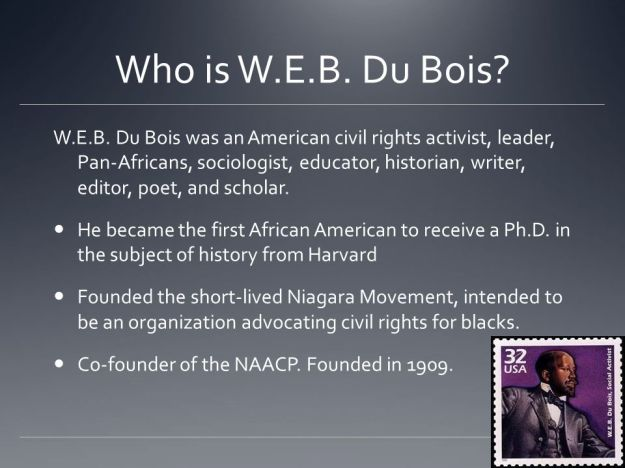Who is W.E.B. Du Bois