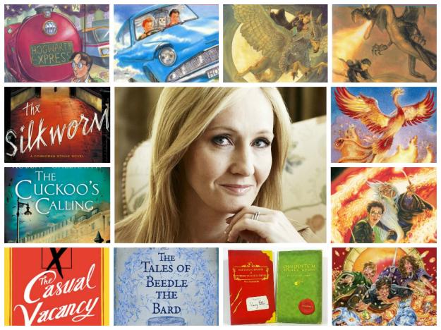 JK Rowling Books List