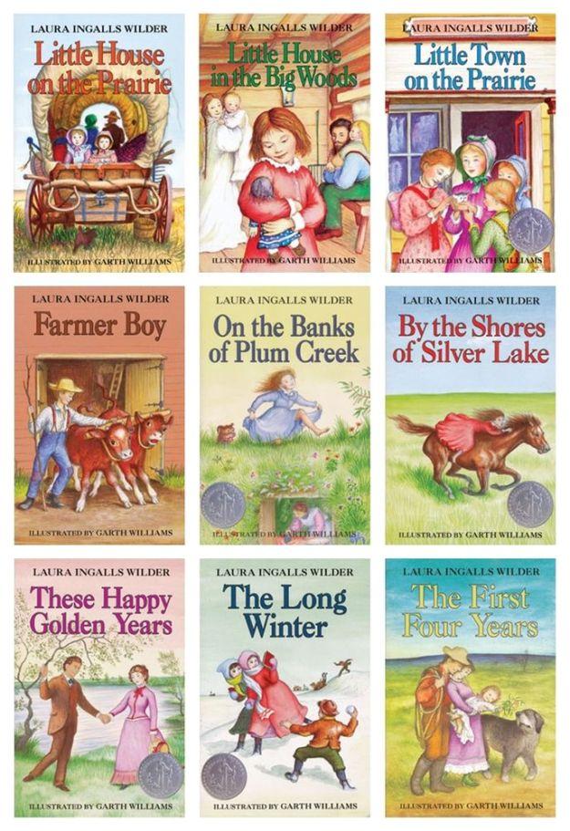 Laura Ingalls Wilder Books List