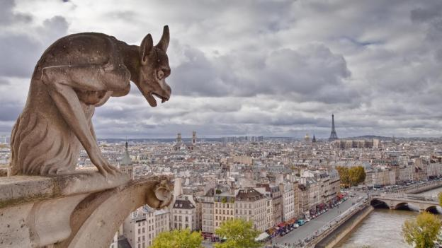 Notre-Dame-Cathedral-Gargoyles