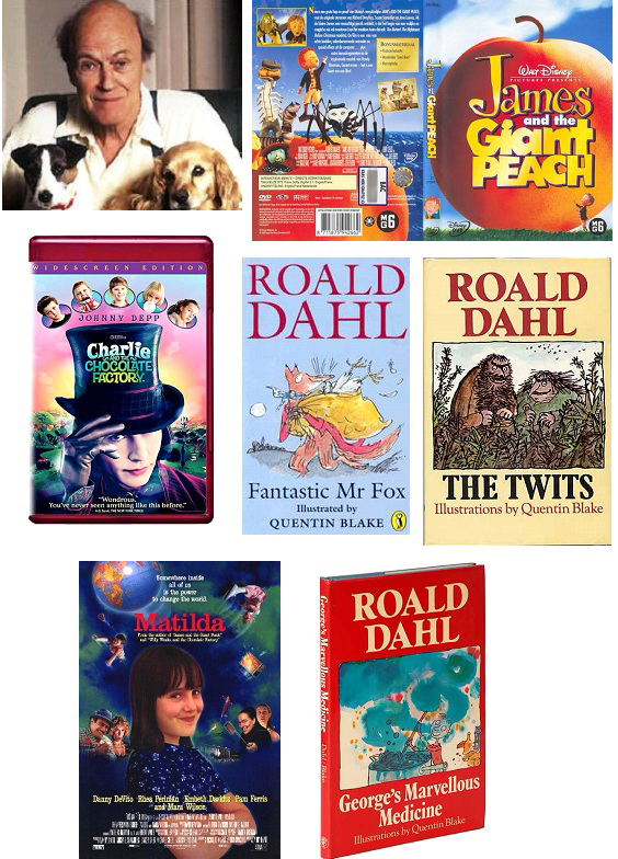 Roald Dahl and his books