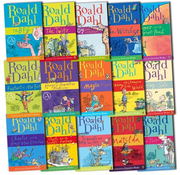 Roald Dahl Books List