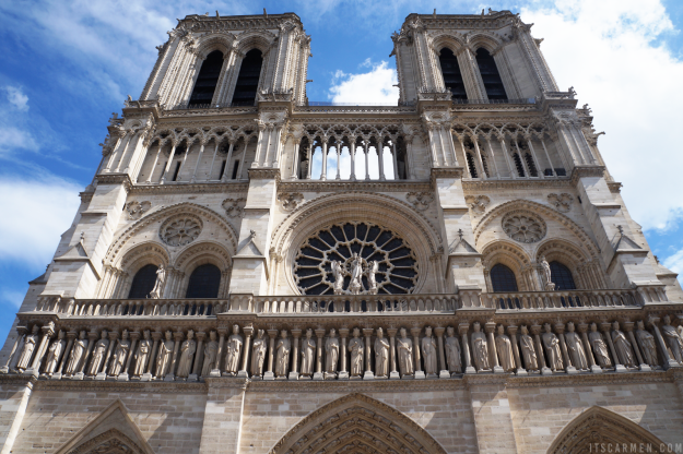 The Beauty of the Notre Dame in Paris