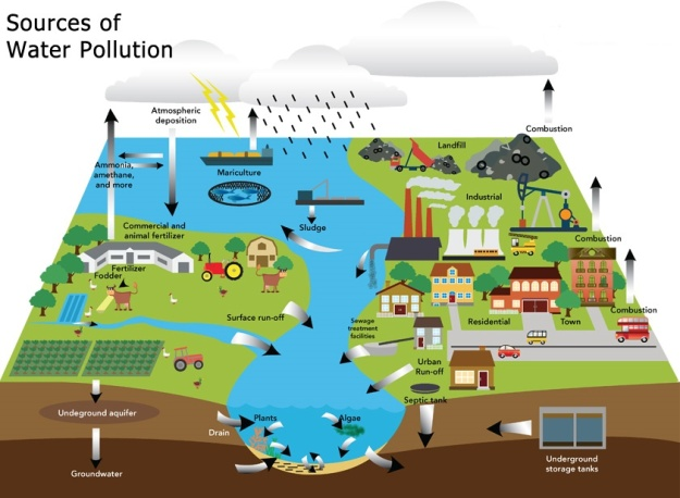 What are the Sources of Water Pollution