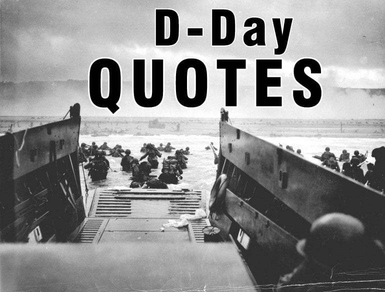 10 D-Day Quotes