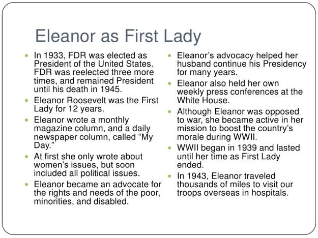 Eleanor Roosevelt 3