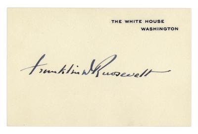 Franklin D. Franklin Signnature