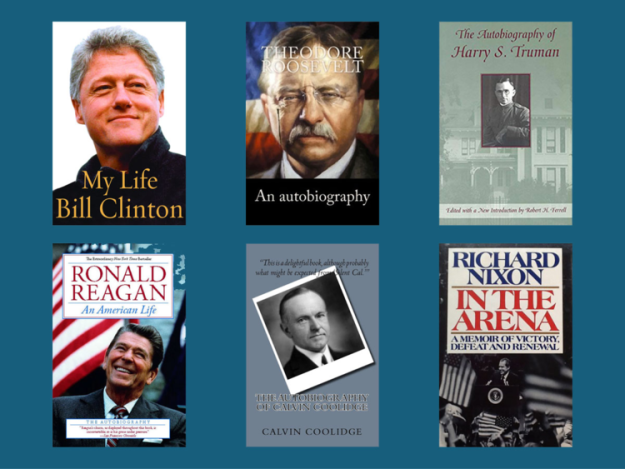 List of Autobiographies by Presidents of the United States