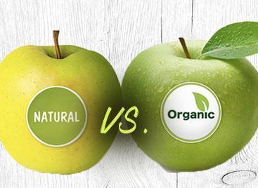 Organic vs Natural Apples
