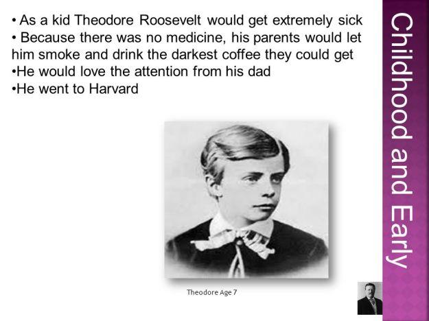 Theodore Roosevelt 1