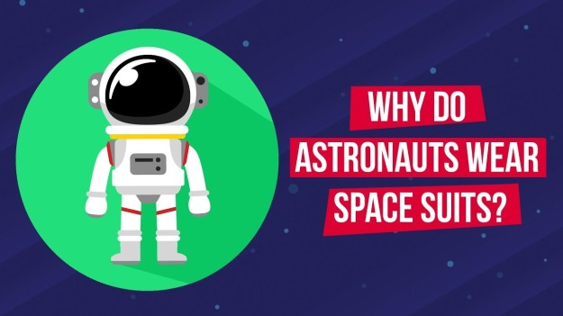 Why do Astronauts Wear Space Suits