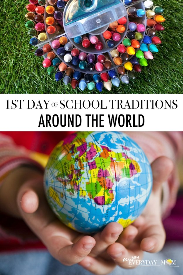 First Day of School Traditions Around the World