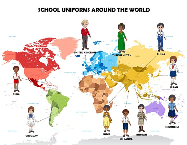 School Uniforms Around the World