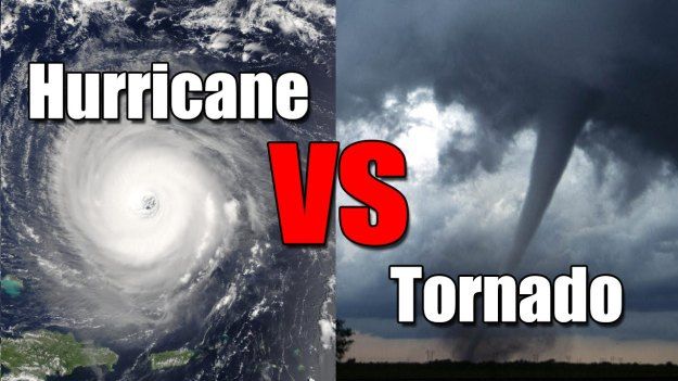 Hurricane vs Tornado