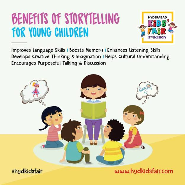 Benefits of Storytelling for Young Children