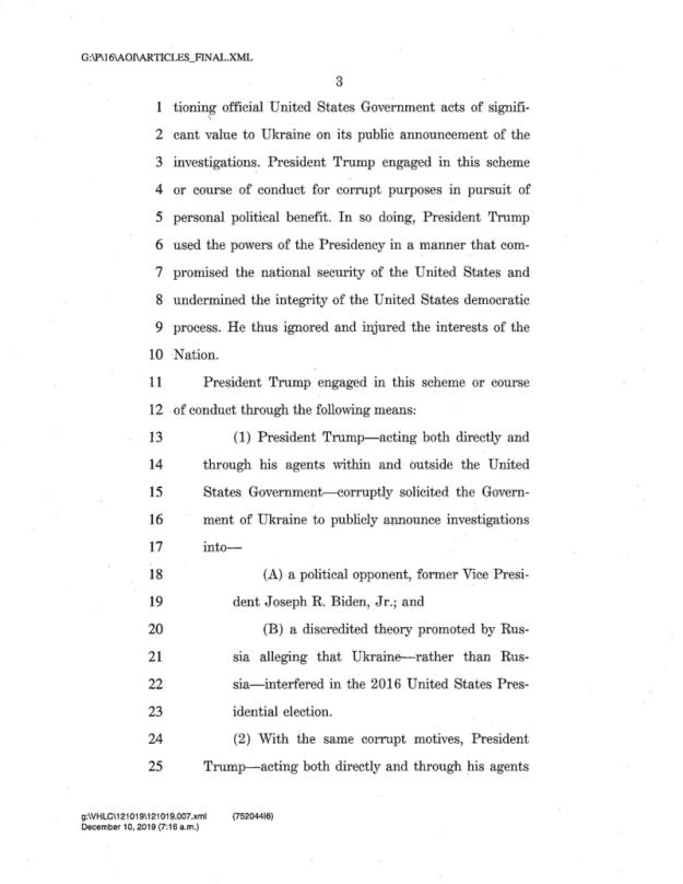 Impeachment Letter 3