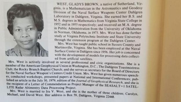 Gladys West Biography 3