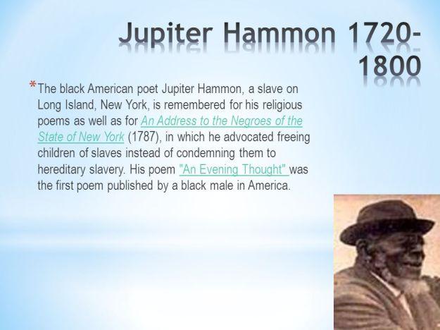 Jupiter Hammon Biography 2