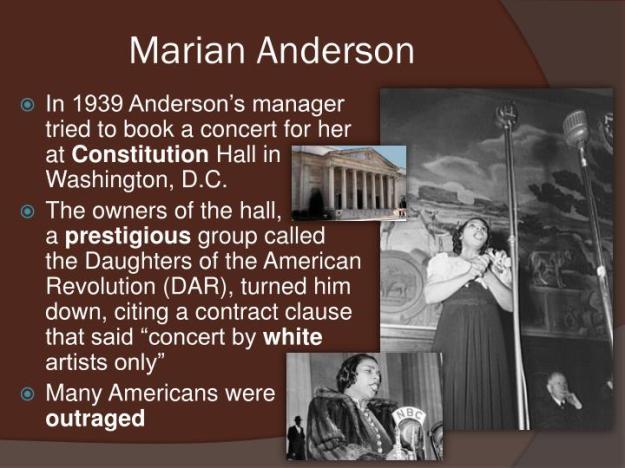 Marian Anderson Biography 3