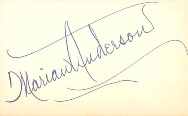 Marian Anderson Biography 9