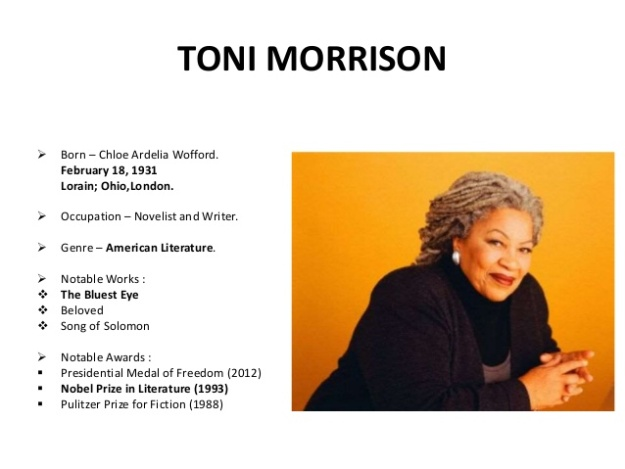Toni Morrison Biography 1