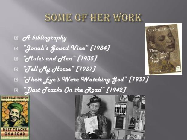 Zora Neale Hurston Biography 7