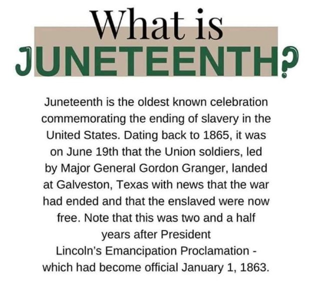Juneteenth Meaning